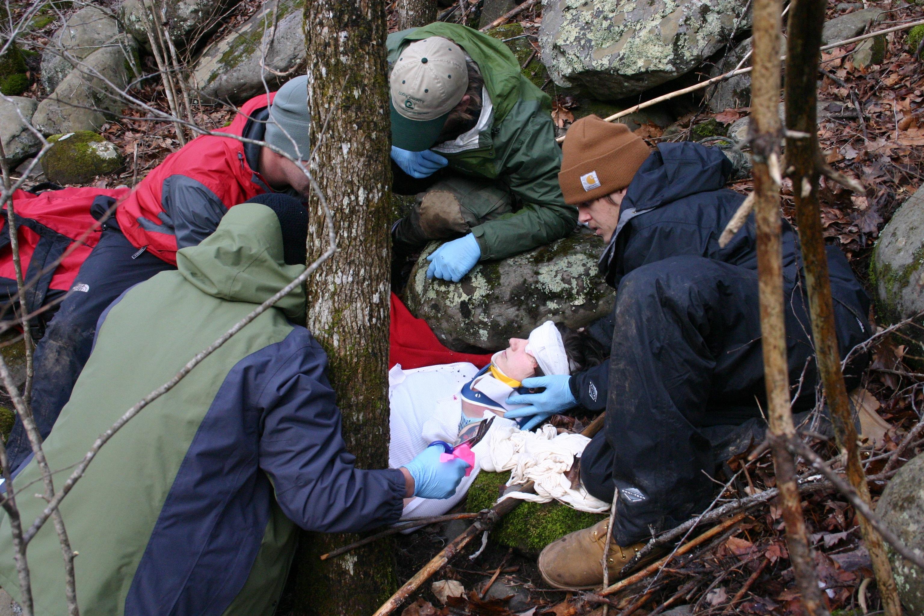 Wilderness First Responder Great Smoky Mountains