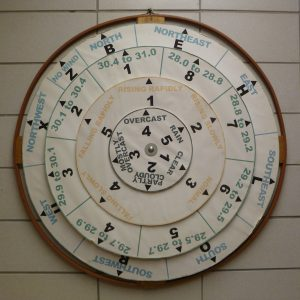 Weather wheel at Tremont