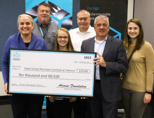 Tremont receives $10,000 from Arconic