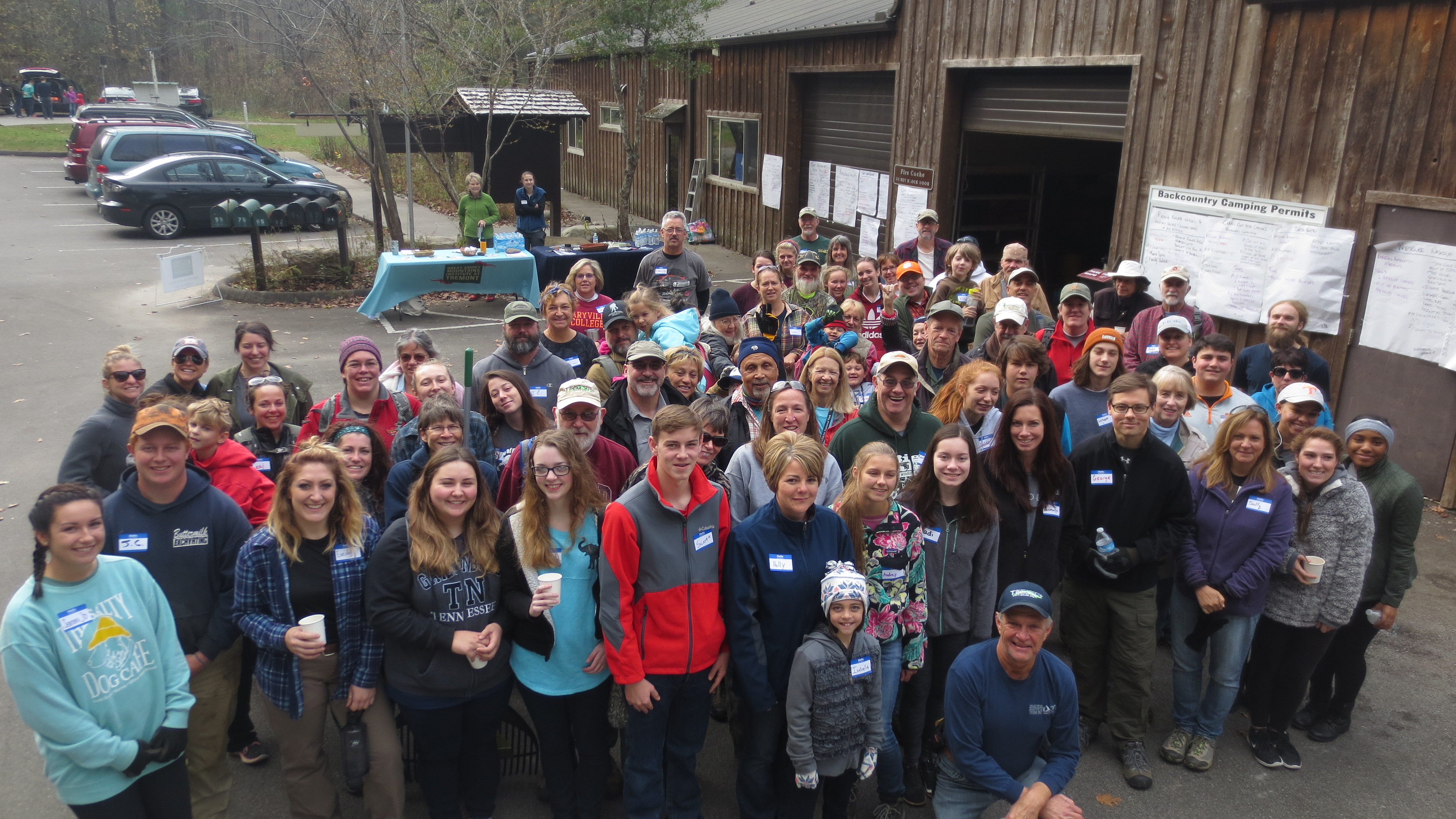 Tremont Volunteers in 2017