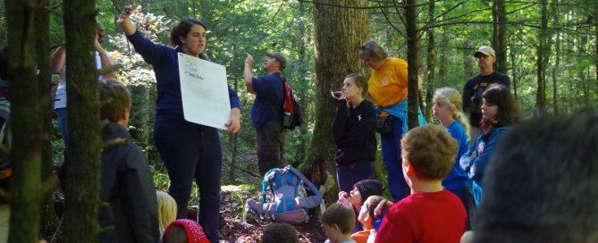 Jennie McGuigan teaching at Tremont Institute