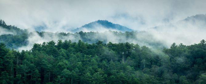 Smoky Mountains landscape photo by David Bryant