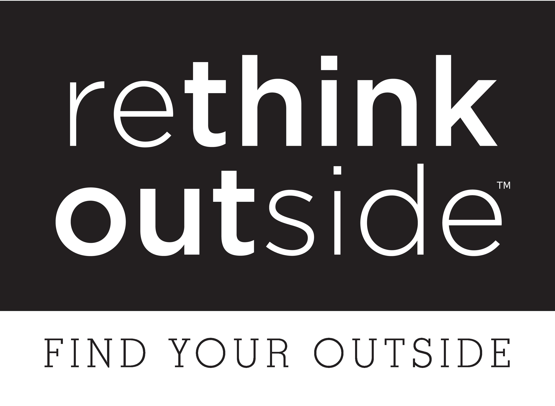 Rethink Outside logo