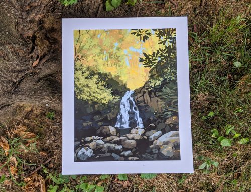 Knoxville artist raises money for Tremont Institute with limited edition print