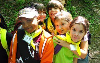 Smiling Tremont summer campers