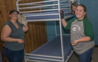 Volunteers spruce up Tremont's dormitory