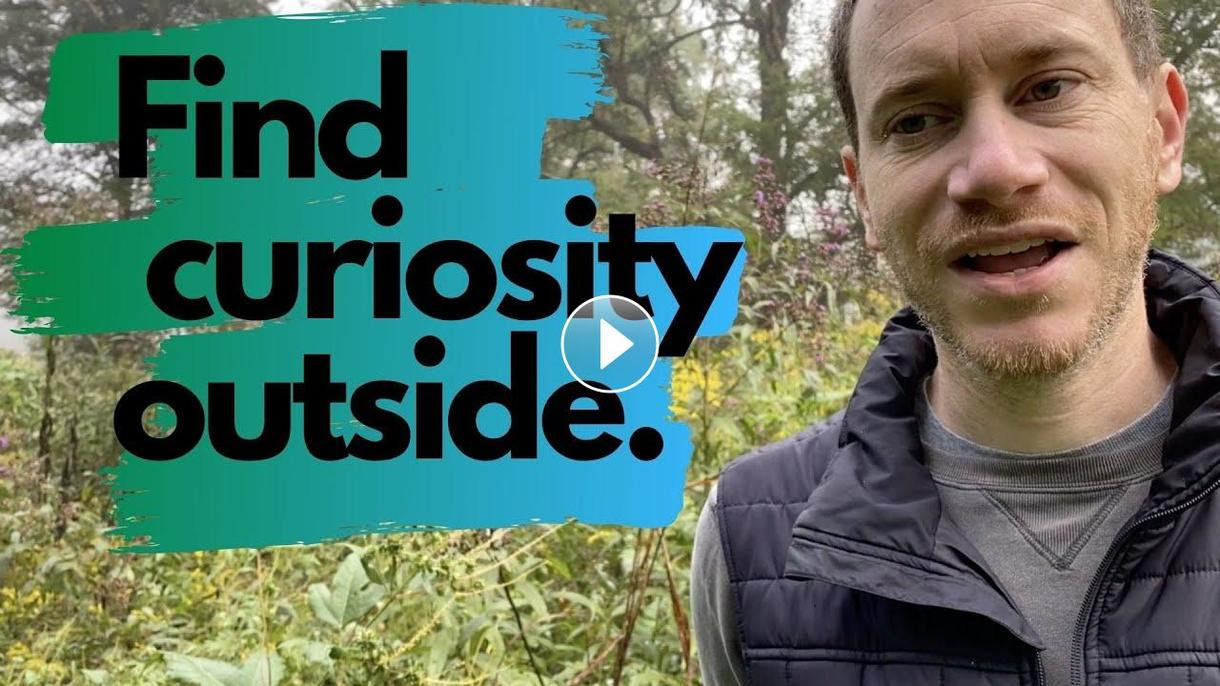 Find curiosity outside with Weekly Wonder