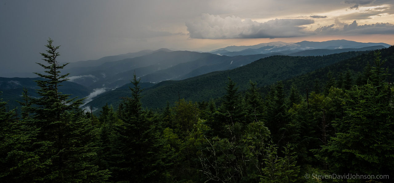 View from Clingman's Dome. Photo by Steven David Johnson.